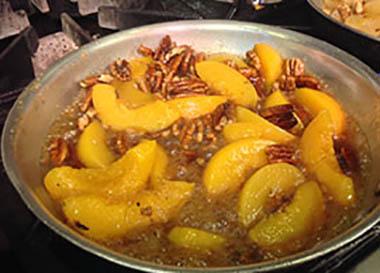 peaches-pan